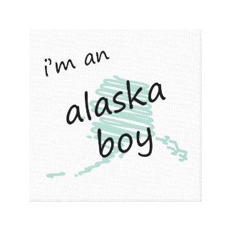 Soy un muchacho de Alaska Impresiones En Lona