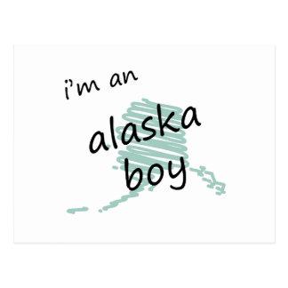 Soy un muchacho de Alaska Tarjeta Postal