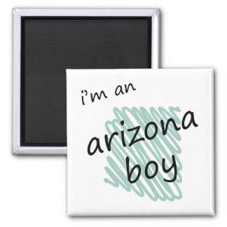 Soy un muchacho de Arizona Imán Cuadrado