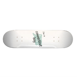 Soy un muchacho de Connecticut Tablas De Skate