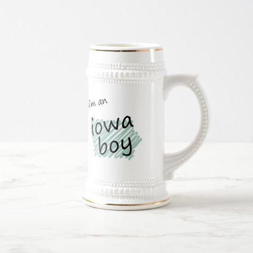 Soy un muchacho de Iowa Jarra De Cerveza