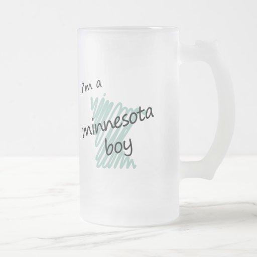 Soy un muchacho de Minnesota Tazas