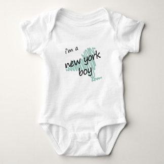 Soy un muchacho de Nueva York Body Para Bebé