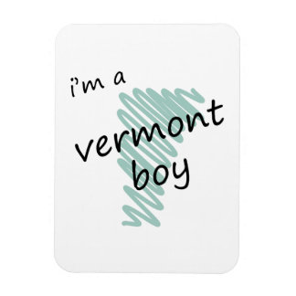 Soy un muchacho de Vermont Iman Rectangular