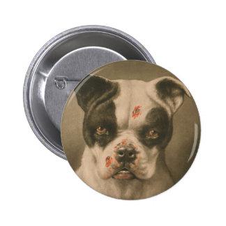 ¿Soy un mún perro qué clase de perro es usted? Pin Redondo De 2 Pulgadas