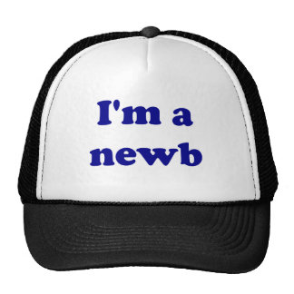 Soy un newb gorra