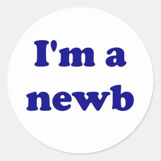 Soy un newb etiquetas redondas