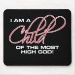Soy un niño de dios más alto - Joel Osteen Alfombrillas De Raton