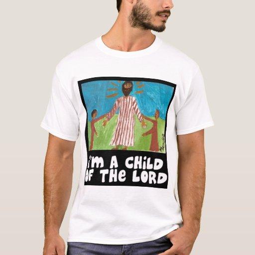 Soy un niño del señor T-Shirt de Mandee Retana Playera