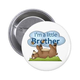 Soy un oso de pequeño Brother Pin Redondo De 2 Pulgadas