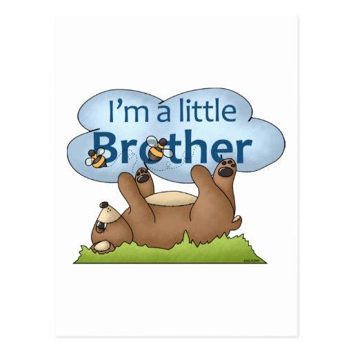 Soy un oso de pequeño Brother Tarjetas Postales