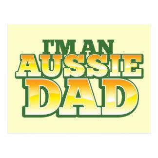 ¡Soy un PAPÁ AUSTRALIANO! Postal