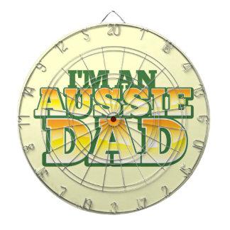 ¡Soy un PAPÁ AUSTRALIANO! Tablero De Dardos