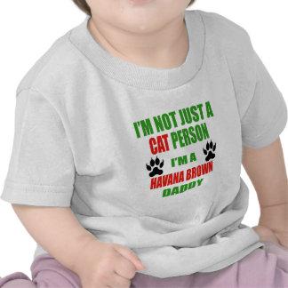Soy un papá de La Habana Brown Camisetas