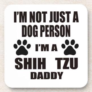 Soy un papá de Shih Tzu Posavasos De Bebida