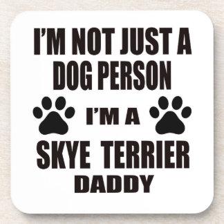 Soy un papá de Skye Terrier Posavasos De Bebidas