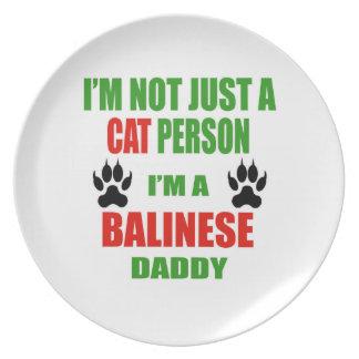 Soy un papá del Balinese Plato De Cena