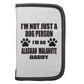 Soy un papá del Malamute de Alaska Planificadores