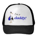 """""""Soy un papá!"""" gorra con la cigüeña de la entrega"""