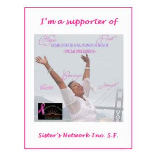 Soy un partidario de Sisters Network Inc SF Postal