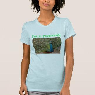 ¡Soy un pavo real! Camisetas
