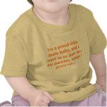 Soy un pequeño bebé orgulloso del aspie camisetas