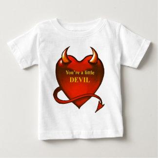 Soy un pequeño diablo playeras