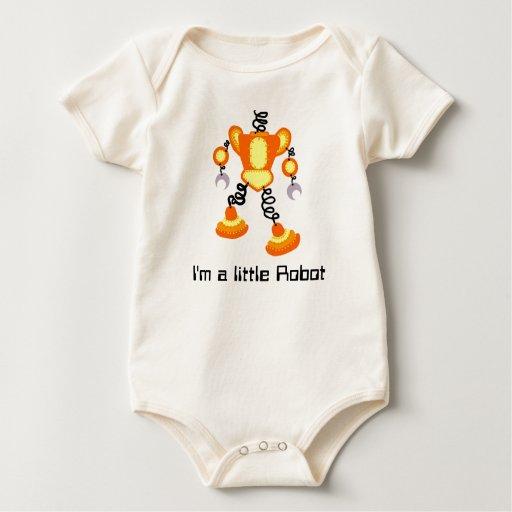 Soy un pequeño robot body para bebé