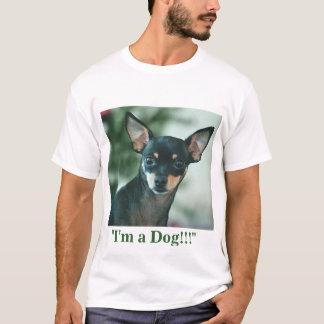 ¡Soy un perro!!! Playera