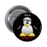 Soy un pingüino pin