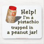 Soy un pistacho alfombrilla de raton