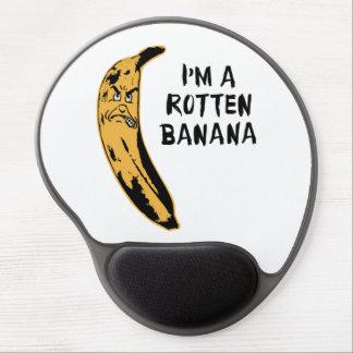 Soy un plátano putrefacto alfombrillas con gel
