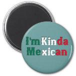 Soy un poco mexicano iman para frigorífico
