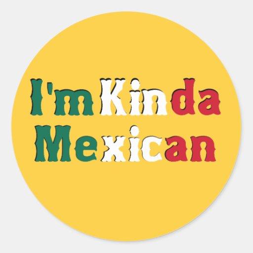 Soy un poco mexicano pegatinas