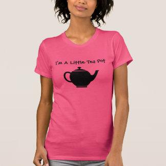 Soy un poco pote del té camiseta