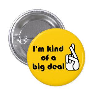 Soy un poco un botón cruzado gran cosa 2 de los de pin