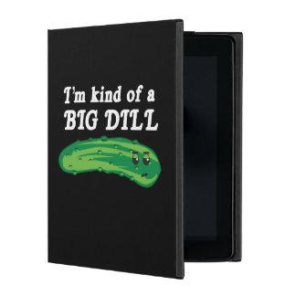 Soy un poco un eneldo grande iPad carcasas