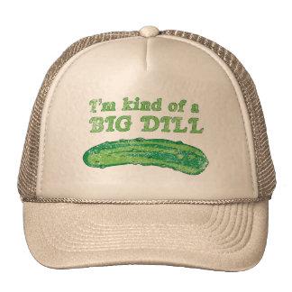 Soy un poco un eneldo grande gorras de camionero