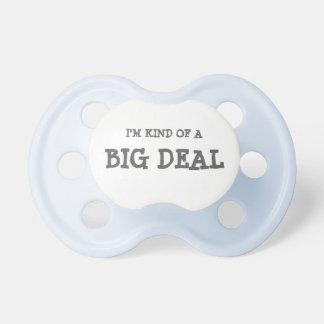 Soy un poco un pacificador del bebé de la gran chupetes de bebe