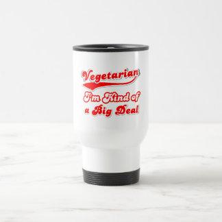 Soy un poco un VEGETARIANO de la gran cosa Tazas De Café