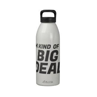 Soy un poco una botella de agua de la gran cosa