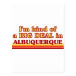 Soy un poco una GRAN COSA en Albuquerque Postales