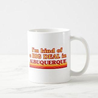 Soy un poco una GRAN COSA en Albuquerque Taza De Café
