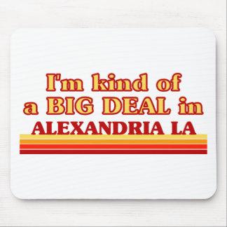 Soy un poco una GRAN COSA en Alexandría Alfombrillas De Ratón