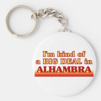 Soy un poco una GRAN COSA en Alhambra Llavero Redondo Tipo Pin