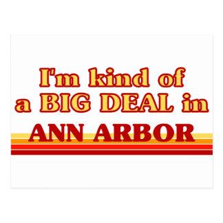 Soy un poco una GRAN COSA en Ann Arbor Postales