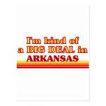 Soy un poco una GRAN COSA en Arkansas Tarjetas Postales