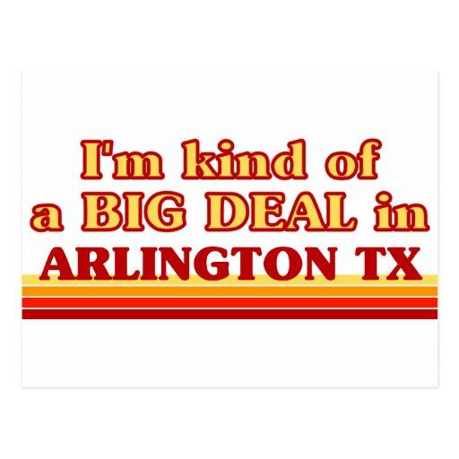Soy un poco una GRAN COSA en Arlington Heights Tarjetas Postales