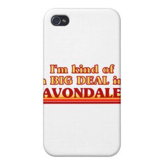 Soy un poco una GRAN COSA en Avondale iPhone 4/4S Fundas