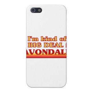 Soy un poco una GRAN COSA en Avondale iPhone 5 Cárcasa